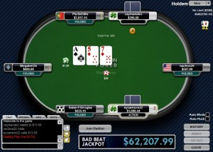 Carbon Poker Table Screenshot